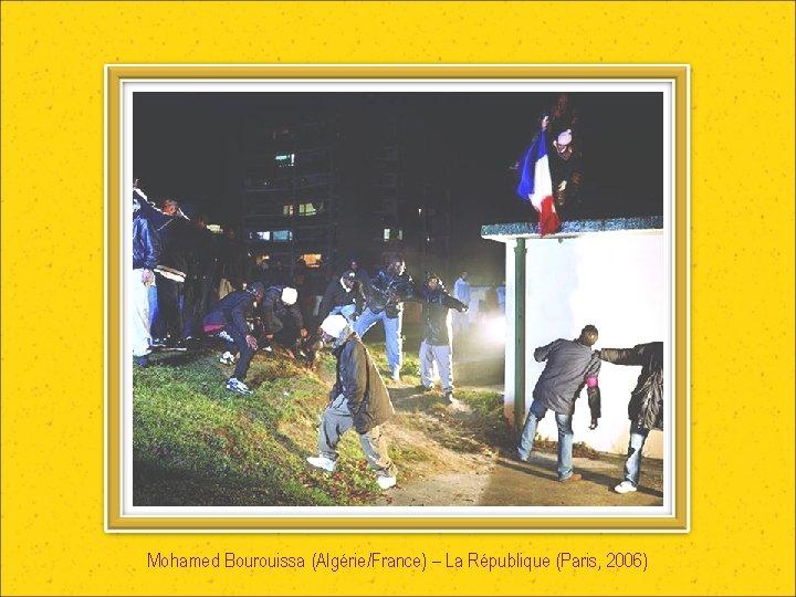 Mohamed Bourouissa (Algérie/France) – La République (Paris, 2006)