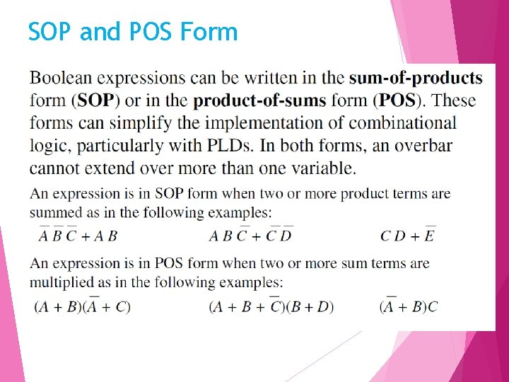 SOP and POS Form