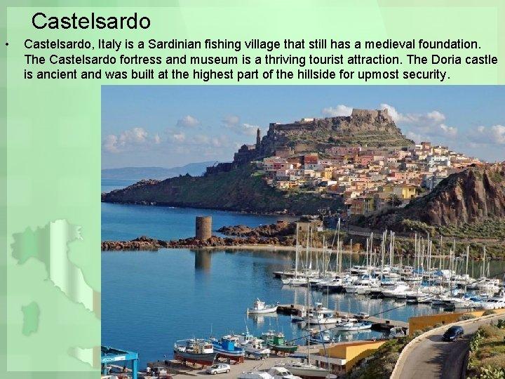 Castelsardo • Castelsardo, Italy is a Sardinian fishing village that still has a medieval