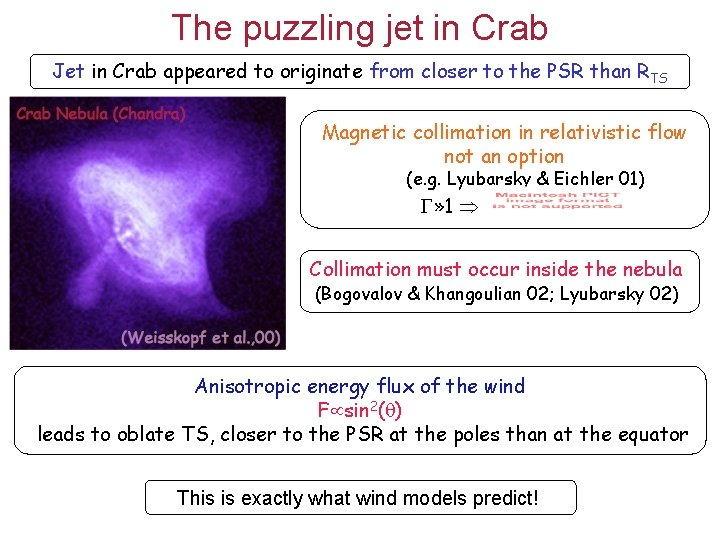 The puzzling jet in Crab Jet in Crab appeared to originate from closer to