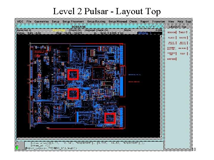 Level 2 Pulsar - Layout Top 10