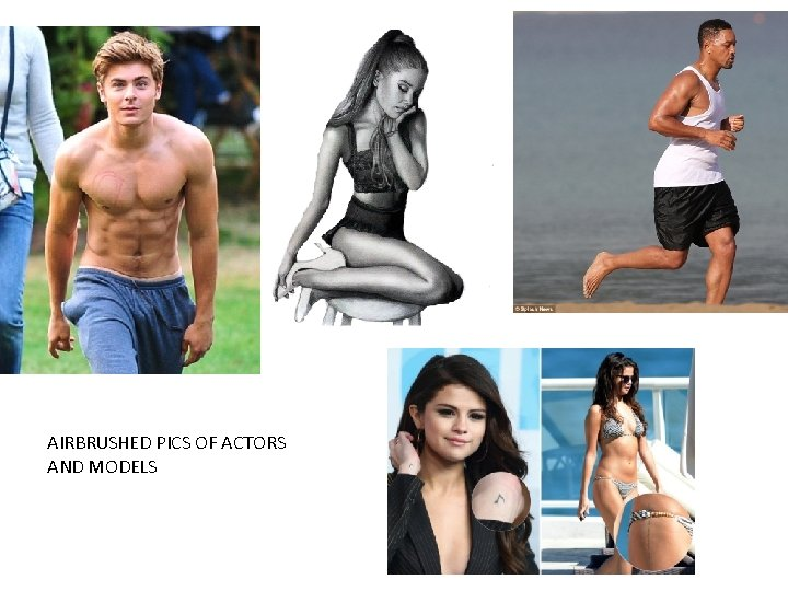 AIRBRUSHED PICS OF ACTORS AND MODELS