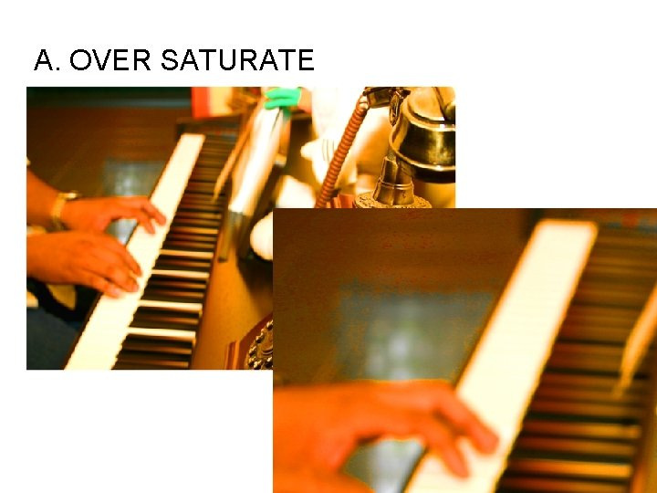 A. OVER SATURATE