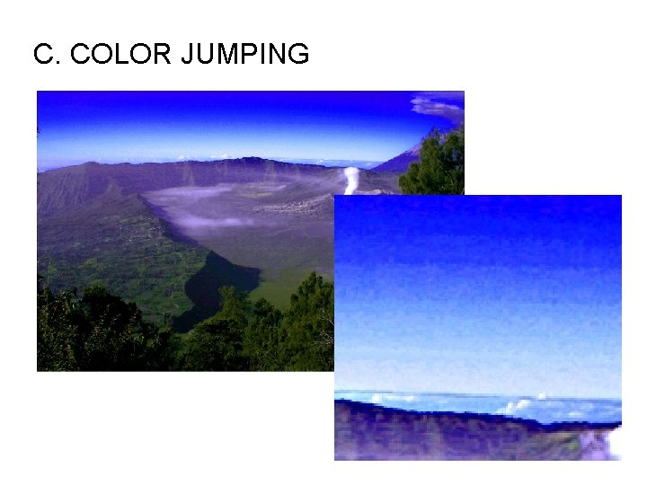 C. COLOR JUMPING