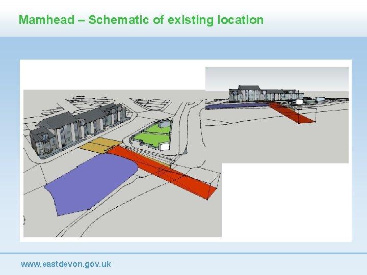 Mamhead – Schematic of existing location www. eastdevon. gov. uk