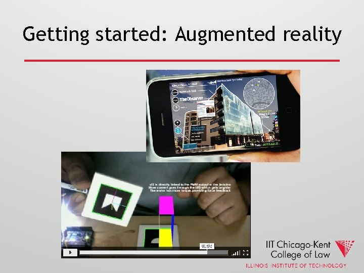 Getting started: Augmented reality