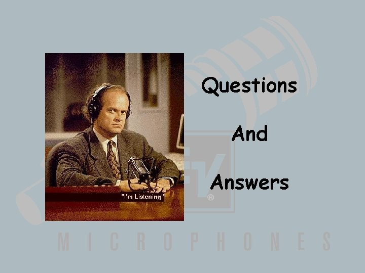 Questions And Answers Wireless Basics 102 8/06/04