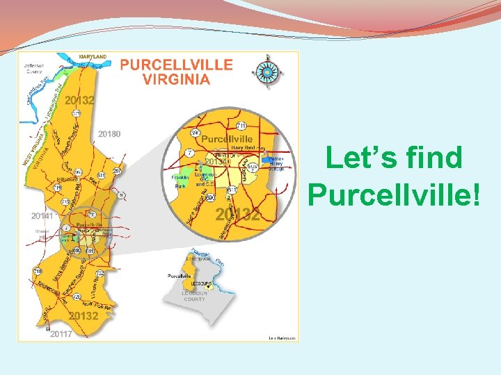 Let's find Purcellville!