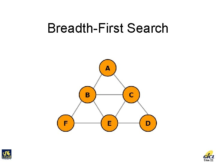 Breadth-First Search Slide 22