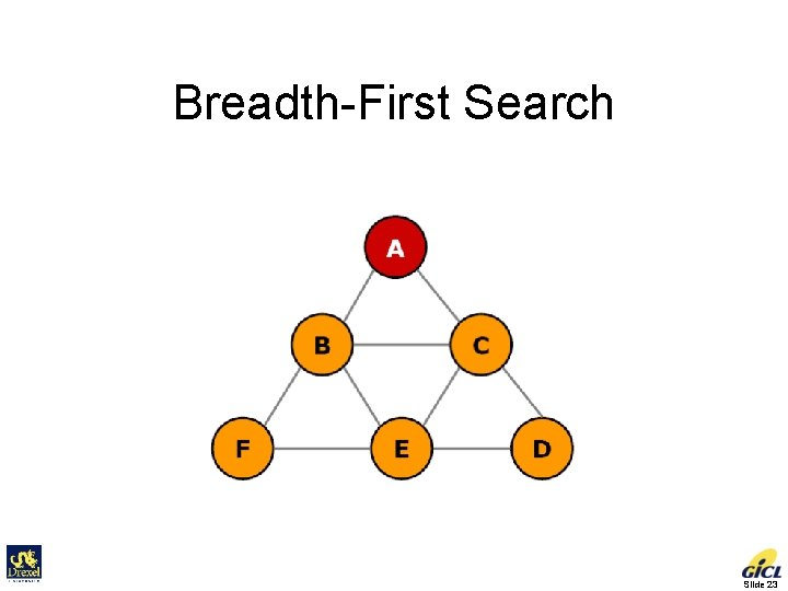 Breadth-First Search Slide 23