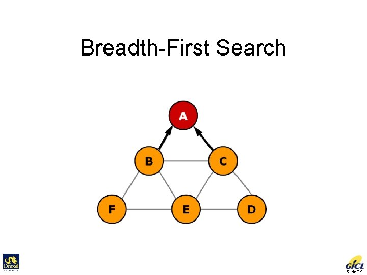 Breadth-First Search Slide 24