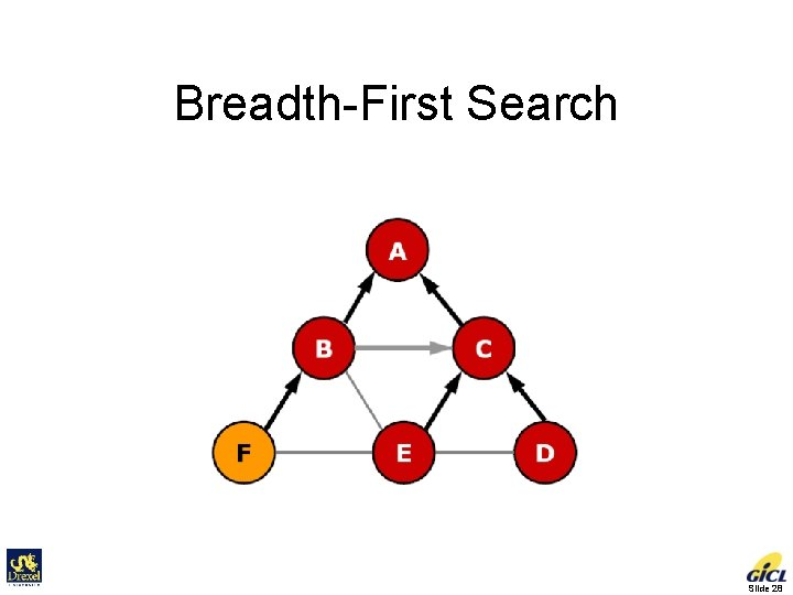 Breadth-First Search Slide 28