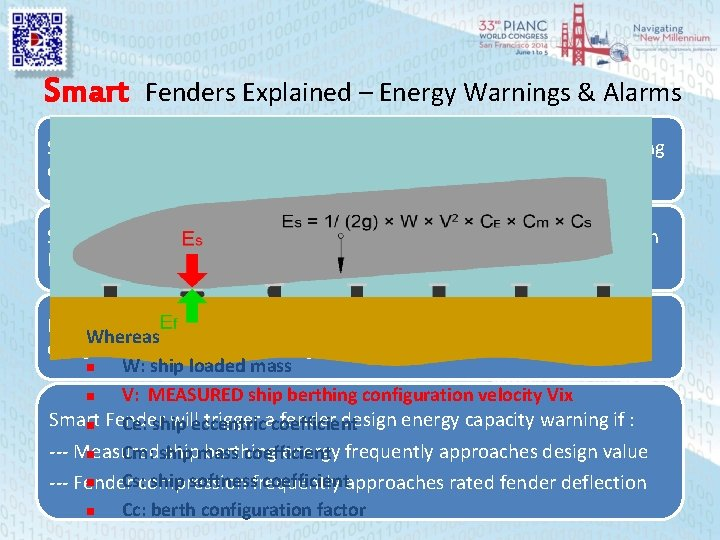 Smart Fenders Explained – Energy Warnings & Alarms Ship Berthing Contact Velocity Vix --