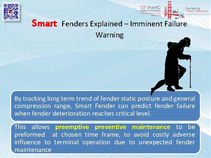 Smart Fenders Explained – Imminent Failure Warning By tracking long term trend of fender