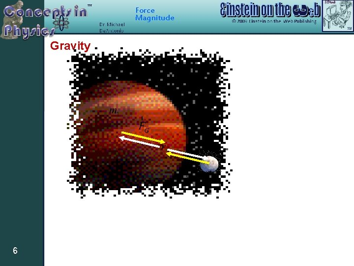 Force Magnitude Gravity 6