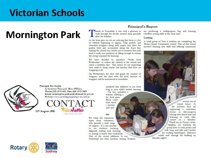 Victorian Schools Mornington Park