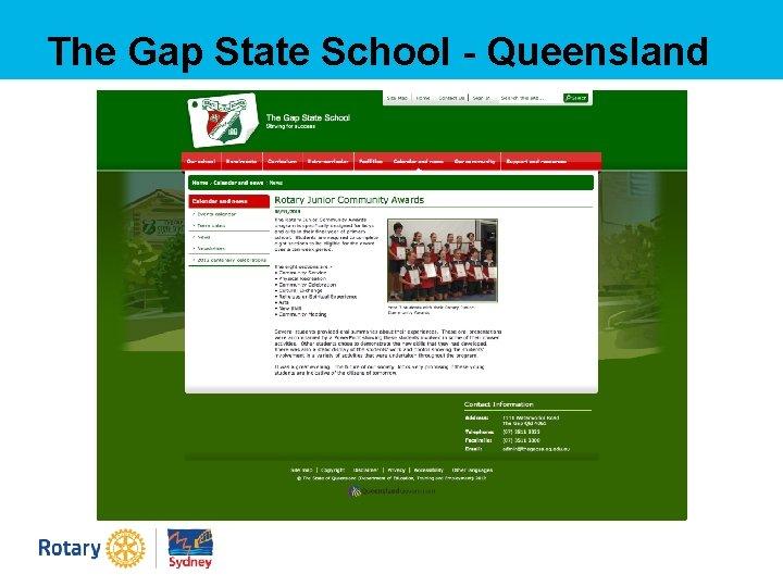 The Gap State School - Queensland