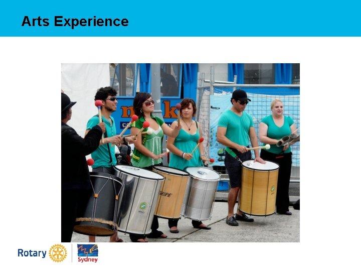 Arts Experience