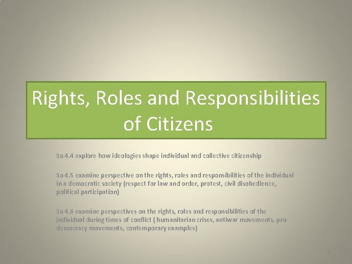 Responsibilities respect rights Search &