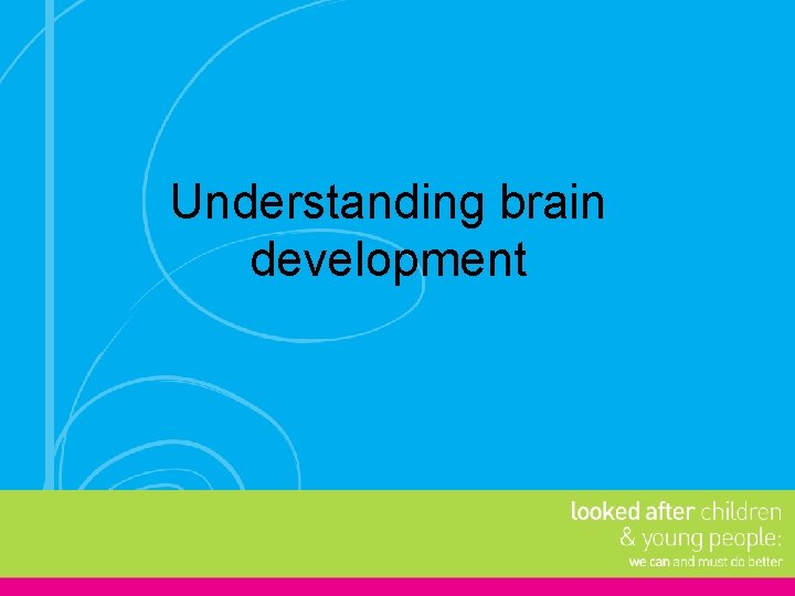 Understanding brain development