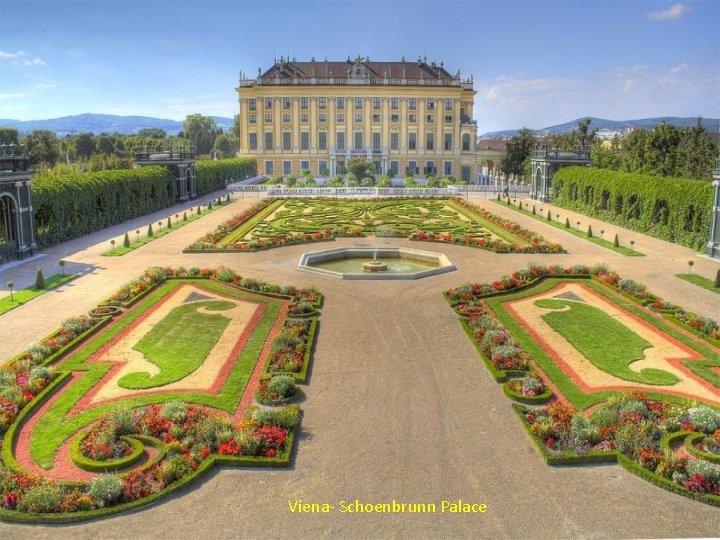 Viena- Schoenbrunn Palace