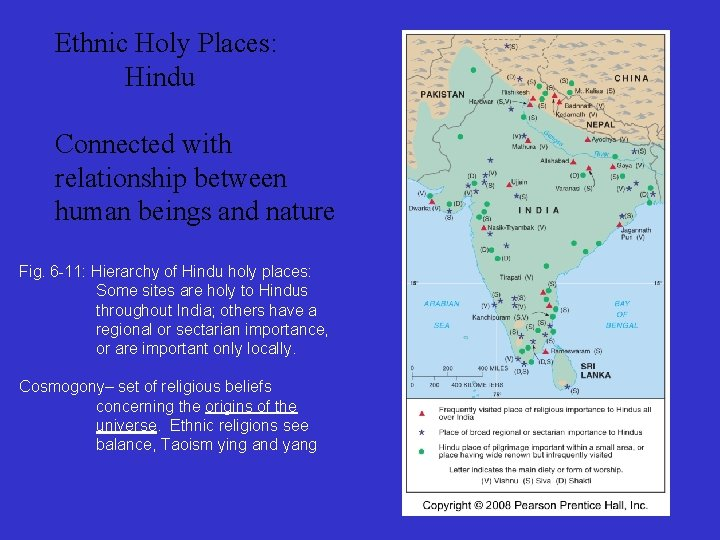 Ethnic Holy Places: Hindu Connected with relationship between human beings and nature Fig. 6