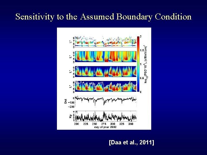 Sensitivity to the Assumed Boundary Condition [Daa et al. , 2011]