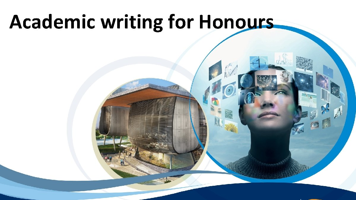 Academic writing for Honours
