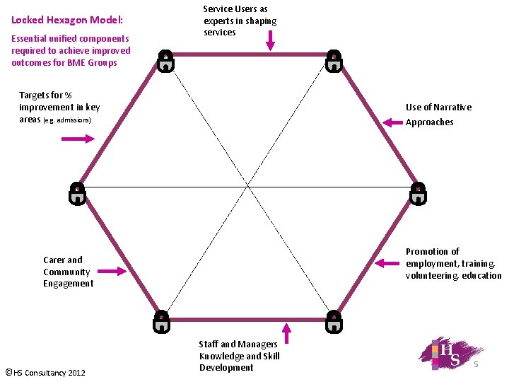 Locked Hexagon Model: Essential unified components required to achieve improved outcomes for BME Groups