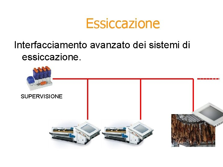 Essiccazione Interfacciamento avanzato dei sistemi di essiccazione. SUPERVISIONE