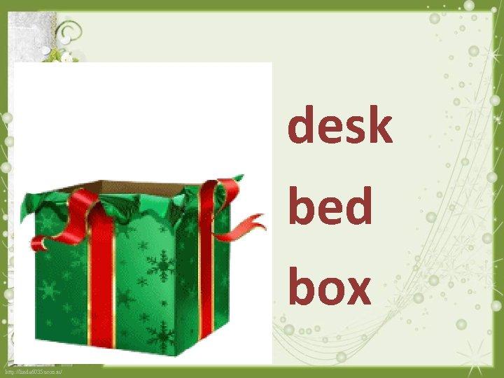 desk bed box
