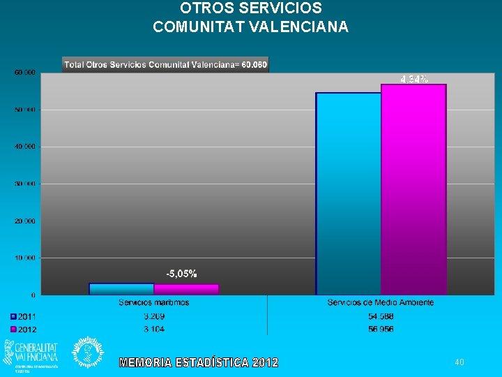 OTROS SERVICIOS COMUNITAT VALENCIANA 40
