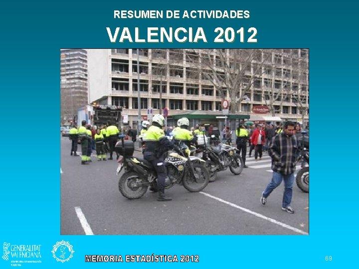 RESUMEN DE ACTIVIDADES VALENCIA 2012 69
