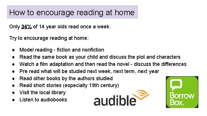 How to encourage reading at home Only 34% of 14 year olds read once