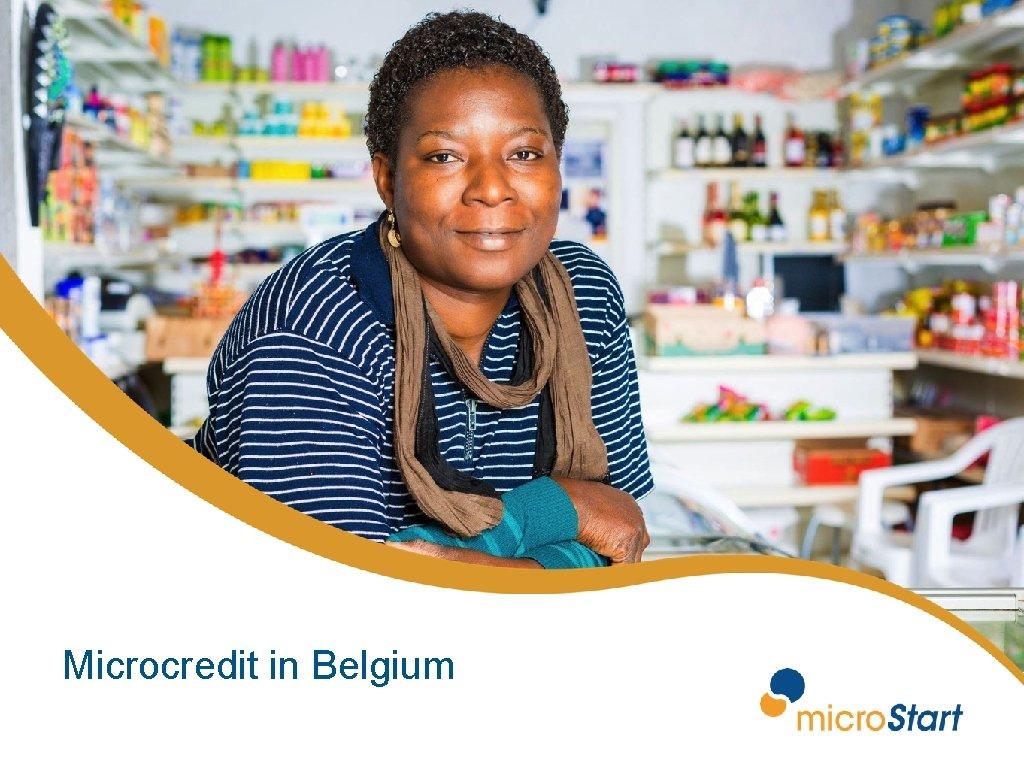 Microcredit in Belgium