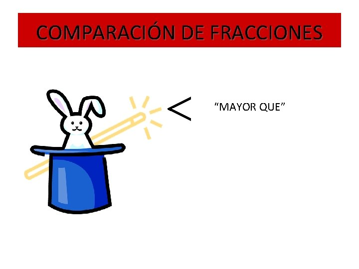 """COMPARACIÓN DE FRACCIONES """"MAYOR QUE"""""""