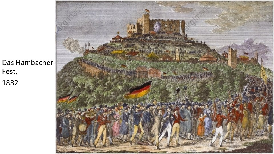 Das Hambacher Fest, 1832