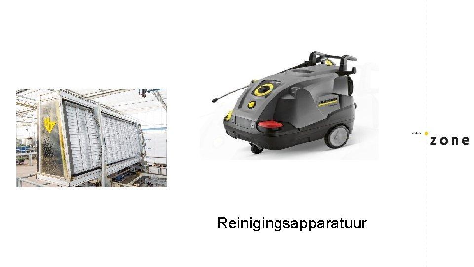 Reinigingsapparatuur