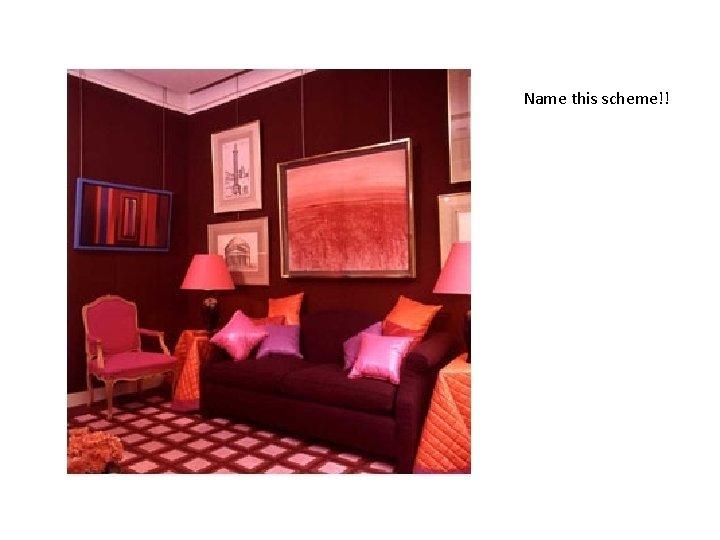 Name this scheme!!