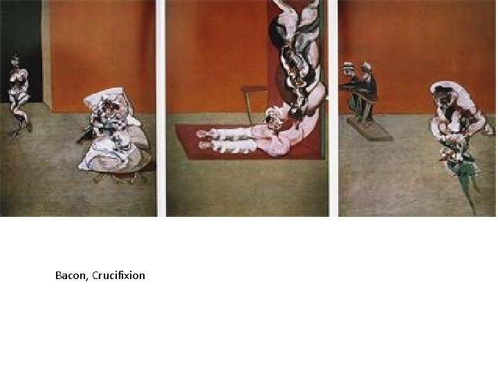 Bacon, Crucifixion