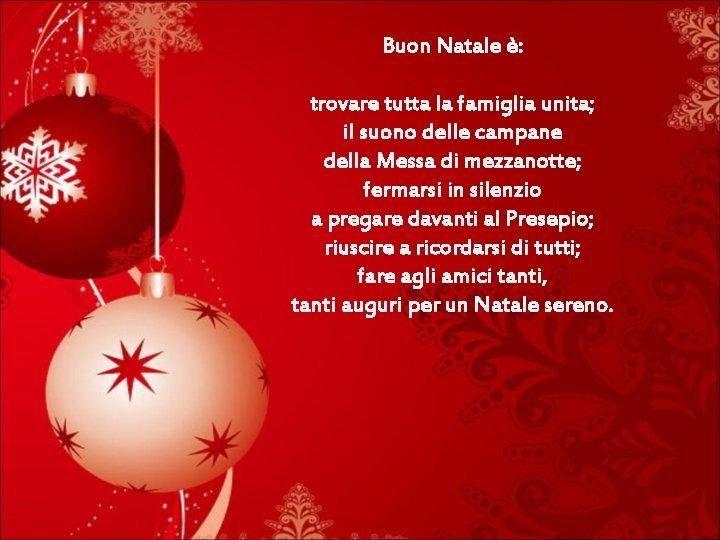 Per Fare Gli Auguri Di Natale.Auguri Di Natale Bello La Mattina Di Un