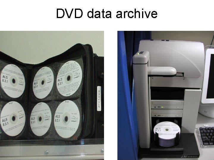 DVD data archive