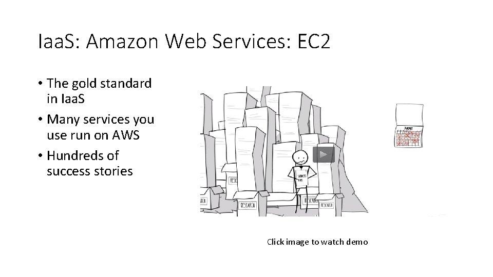 Iaa. S: Amazon Web Services: EC 2 • The gold standard in Iaa. S