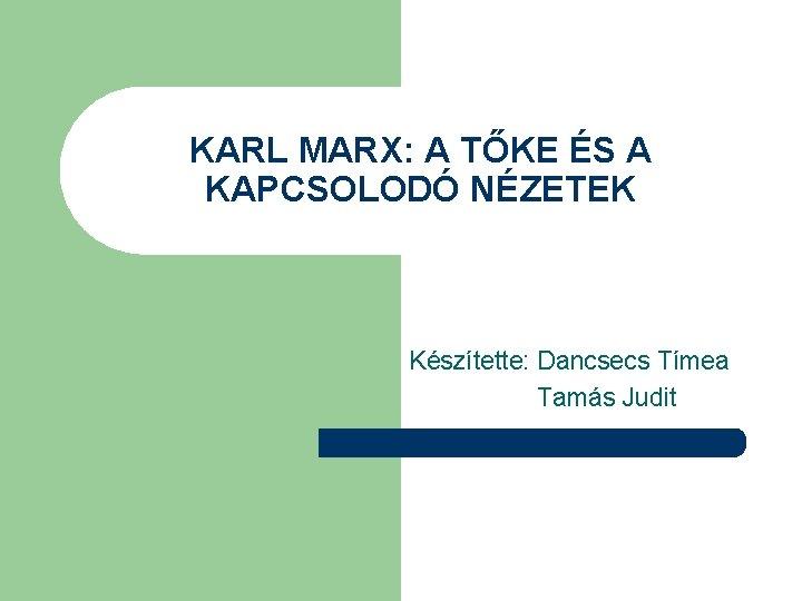Marx Karl politikai nézetei)