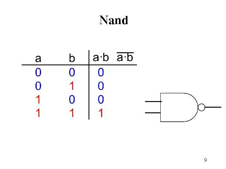 Nand 9