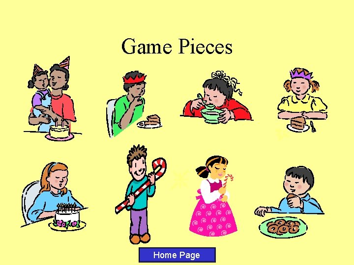 Game Pieces Home Page