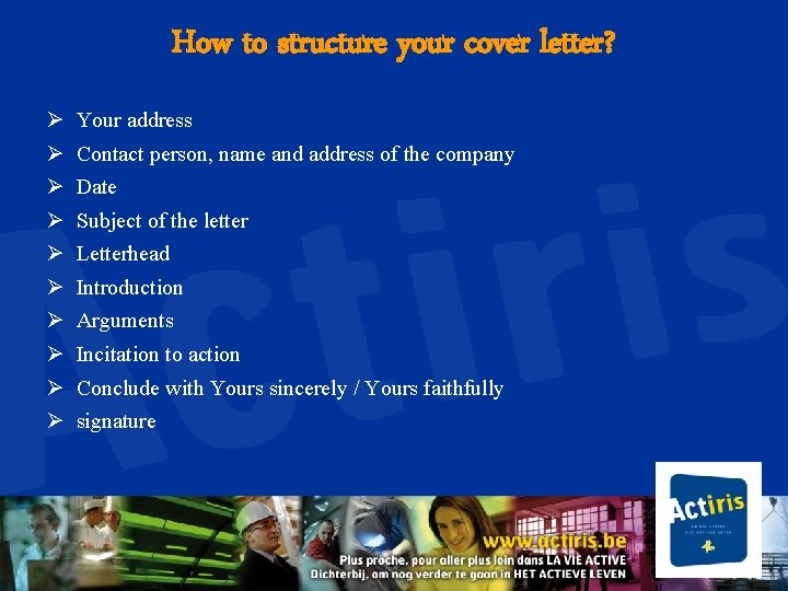Cover Letter Why A Cover Letter A Cover