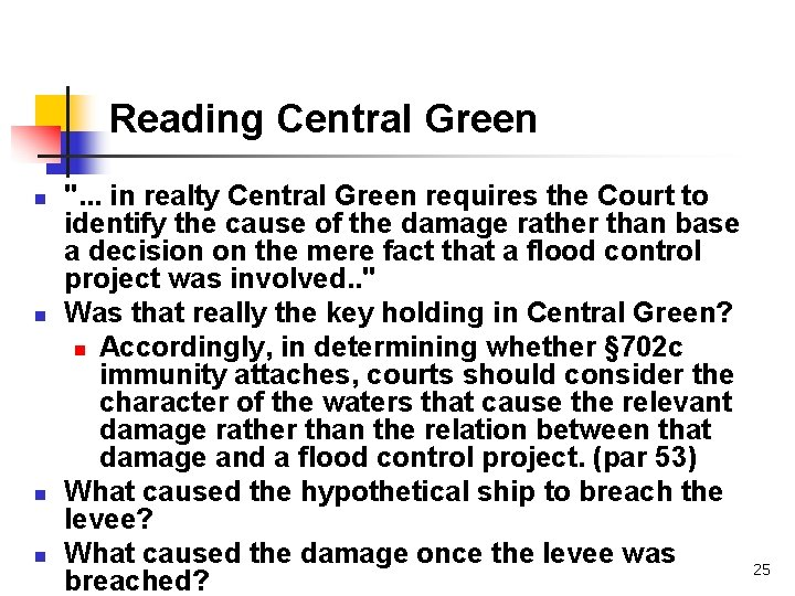 """Reading Central Green n n """". . . in realty Central Green requires the"""
