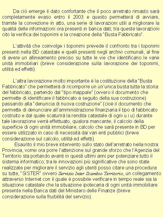 Ufficio Provinciale Di Ferrara Carta Geografica Unica Nella