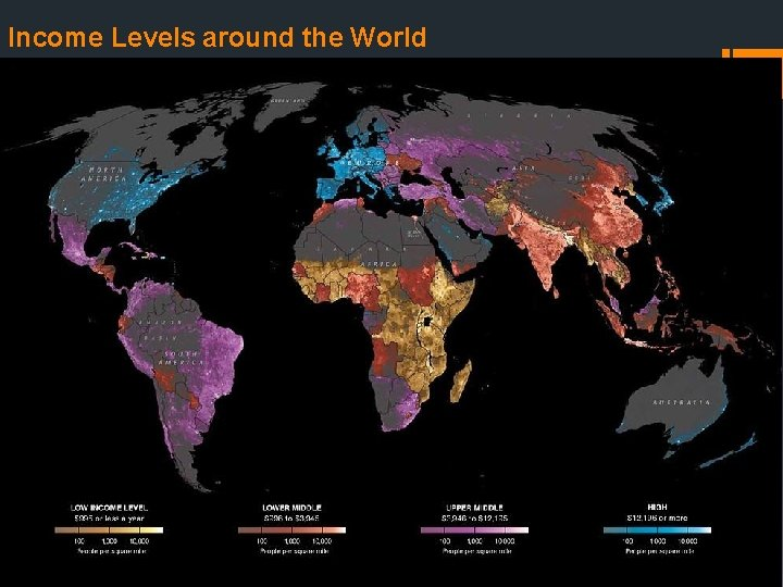 Income Levels around the World